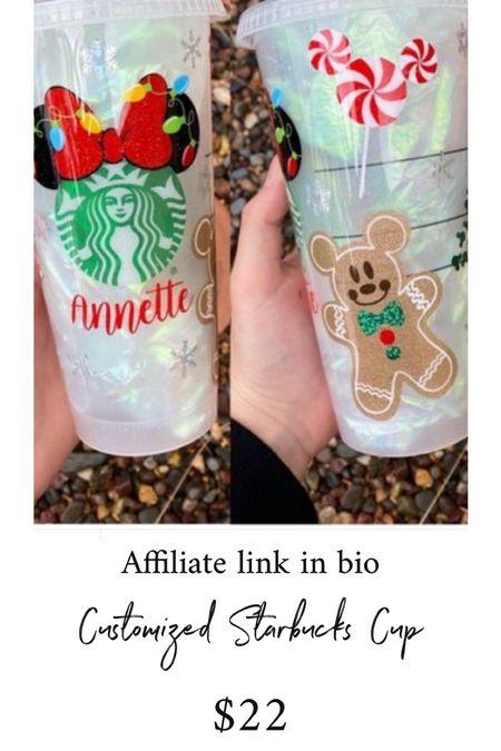 Starbucks Customized Cup #thedailydupes  #LTKHoliday #LTKSeasonal #LTKGiftGuide