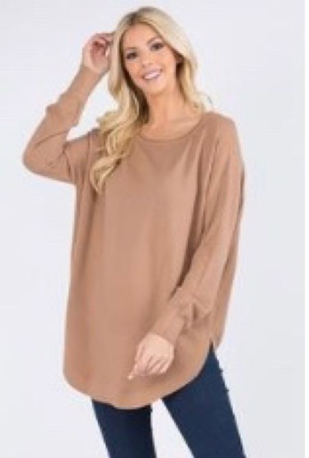 Best selling tunic I have in 3 of the 5 colors and love it with leggings and skinny jeans!  Under $50 great gift  Super soft, true to size! A favorite!    #LTKstyletip #LTKunder50 #LTKGiftGuide
