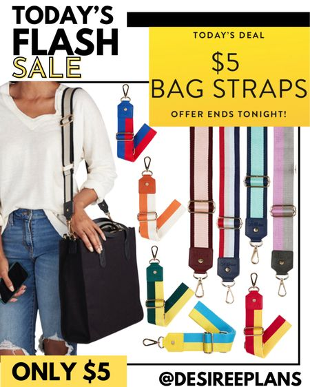 Today only $5 Bag Straps but when you add 2 or more to cart price drops to $3 each!! 👀💰    #LTKtravel #LTKsalealert #LTKstyletip