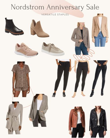 *update: blazer is lagence but just sold out so link was removed 😞 *  My picks for the most versatile everyday staples from the Nordstrom Anniversary Sale, including pieces I own + a few that I ordered. The leggings at the very bottom of the list are regular sizing but petite friendly in xxs and SO soft and cozy. I had bought them at full price last year and it was a reader favorite. Check the blog this week for more detailed thoughts and reviews on these pieces! http://liketk.it/3jy0b #liketkit @liketoknow.it   #petite #NSale   #LTKshoecrush #LTKsalealert