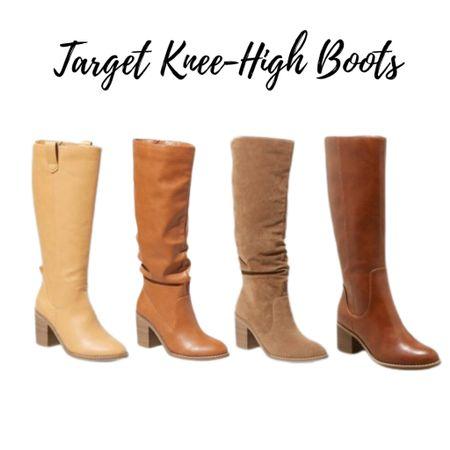 🥳🥳🥳THEY'RE BACK!!!!  Knee high boots at Target!!!    #LTKsalealert #LTKunder50 #LTKshoecrush