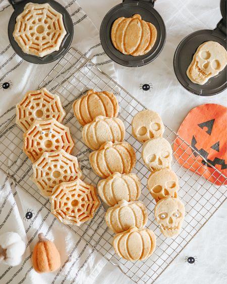 Mini waffle makers for halloween 🎃🕷💀   #LTKSeasonal #LTKHoliday #LTKunder50