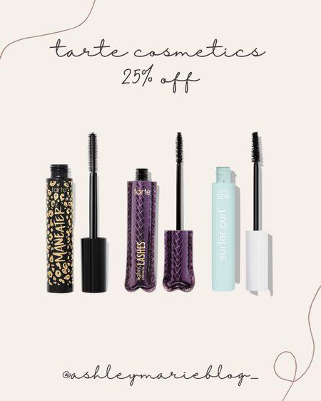 Tarte must have mascaras make a great stocking stuffer!  #LTKbeauty #LTKHoliday #LTKSale
