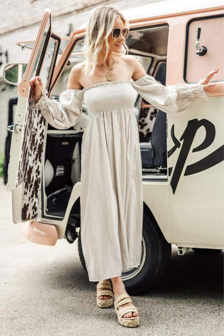 In love with Petal & Pup maxi dresses. They look cute either dressed up or down and all of their clothes are high quality so you can be sure they will last a long time. Totally worth it.  #sunmeroutfit #summerstyle #maxis #maxidresses #summerdresses  #LTKunder100 #LTKSeasonal #LTKitbag