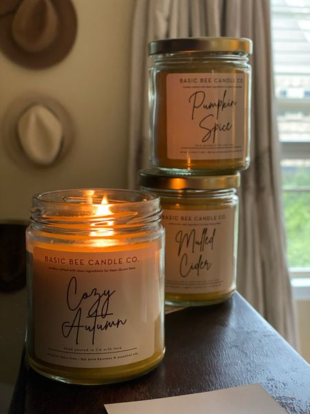 These candles y'all. They burn beautifully and are clean and free of all the things you don't want on your candle. Let's support this small business! #etsy #candles  #LTKGiftGuide #LTKhome #LTKHoliday