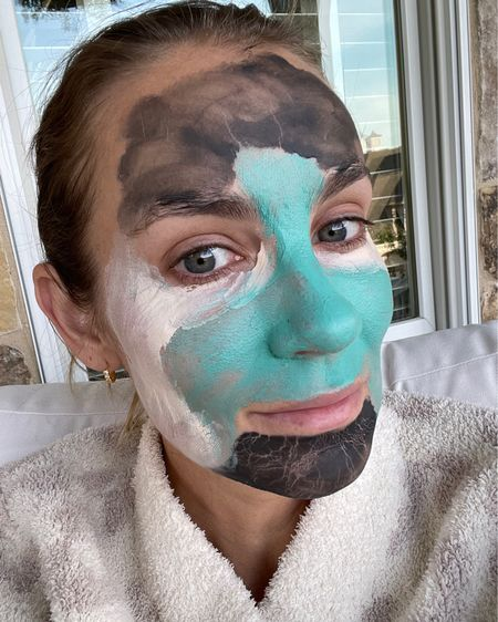 Facial mask combo: charcoal for acne and clogged pores, pore tightening and brightening for under eyes and cheeks 🙌🏼 #LTKbeauty #liketkit @liketoknow.it http://liketk.it/3isY2