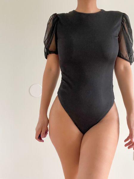 Body suit of the day - Do you like it? 🤍🖤 Found it @asos  #LTKstyletip #LTKunder100 #LTKunder50