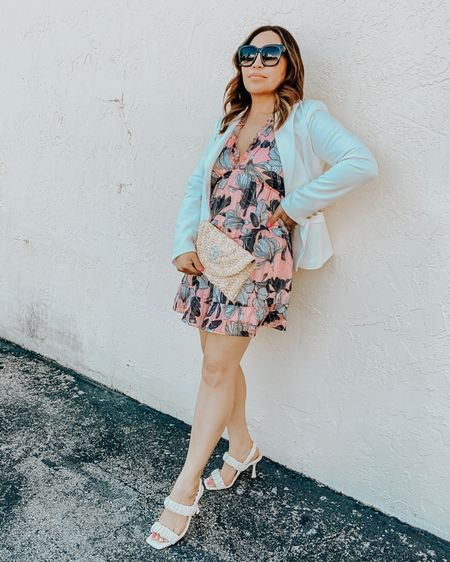Floral dresses in the spring is where it's at y'all....I hope all the mamas out there had a beautiful weekend!!  . .  Shop my daily looks by following me on the LIKEtoKNOW.it shopping app or my BLOG ninamarieblogs.com http://liketk.it/3eX4r #liketkit @liketoknow.it