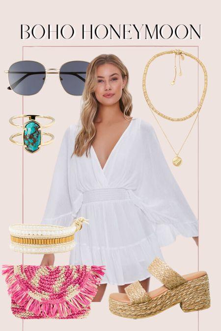 Honeymoon outfit, boho outfit, summer outfit, forever 21 http://liketk.it/3ihmC @liketoknow.it #liketkit #LTKunder50 #LTKunder100