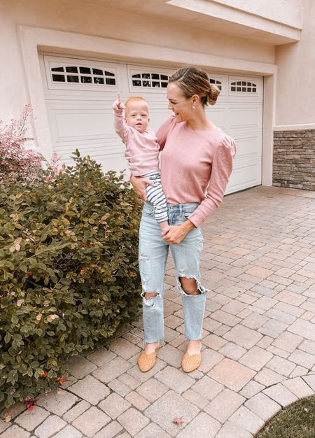 On Wednesdays we wear pink 💕 Get used to twinning with me, sis 👯♀️  #LTKfamily