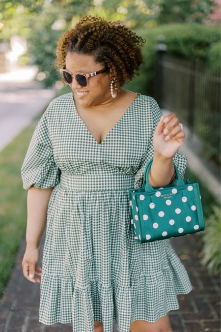 It's the summer of fun dresses for me!!!  This beauty fits TTS! 💚💚💚 http://liketk.it/3hWIw #liketkit @liketoknow.it You can instantly shop all of my looks by following me on the LIKEtoKNOW.it shopping app