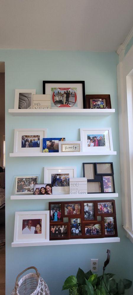 Frame ledge wall http://liketk.it/3iqUn #liketkit #LTKDay #LTKhome @liketoknow.it @liketoknow.it.home