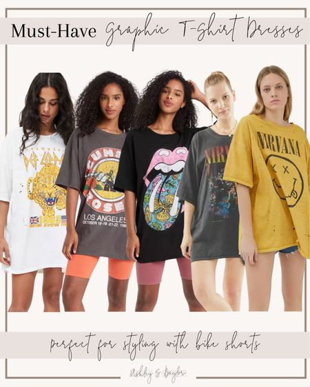 http://liketk.it/3jPgY #liketkit @liketoknow.it #LTKunder50 #LTKstyletip graphic tees, t shirt dresses, summer outfit