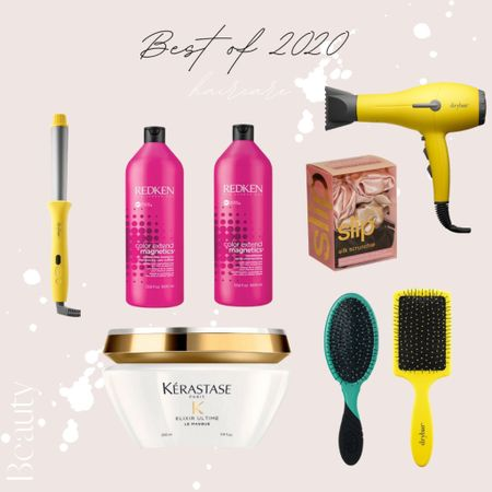 I always get so many questions about the products use on my hair and extensions here they are! 💇🏼♀️ love Dry Bar styling tools for a smooth sleek look! | Redken, Wet Brush, Bar, Kerastase, hair, hair care, hair tools, hair styling|  #LTKbeauty #LTKNewYear #StayHomeWithLTK