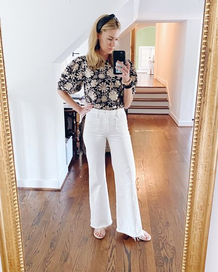 I was in a boutique recently, and I was so disheartened because every top I liked was in the $300 price range. Humph. I'm always on the hunt for unique tops that don't break the bank that not everyone has, so when my s-i-l (@mallorylbates) posted on stories about a cute new top she bought from @shopmille, my curiosity was peeked! I ordered this top and another one (may top in red zinnia) that I found out just shipped (yay!). Anyway, check them out before their prices go up! Ha! I've linked this outfit and really great Mille favorites in this post on ltk. http://liketk.it/3hCCU #liketkit @liketoknow.it