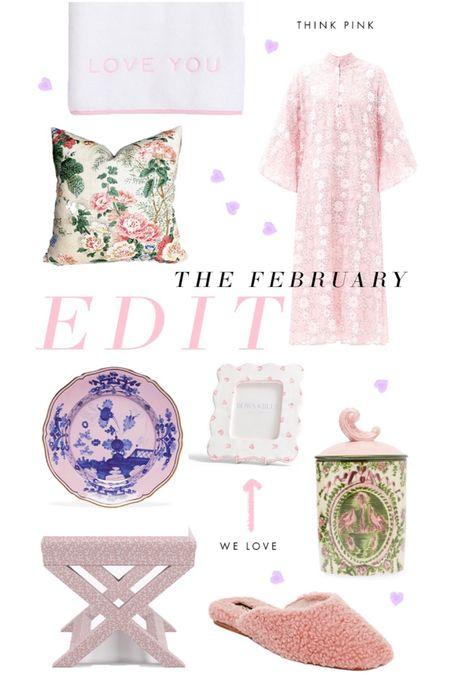 Our February edit: think pink! http://liketk.it/389Xx #liketkit @liketoknow.it #LTKSeasonal #LTKVDay #LTKhome