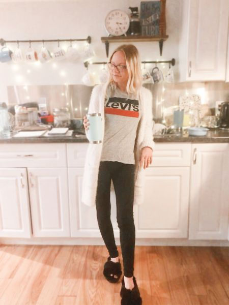 Here's a laid back look for studying all day! Comfy at home   #LTKstyletip #LTKDay #LTKhome