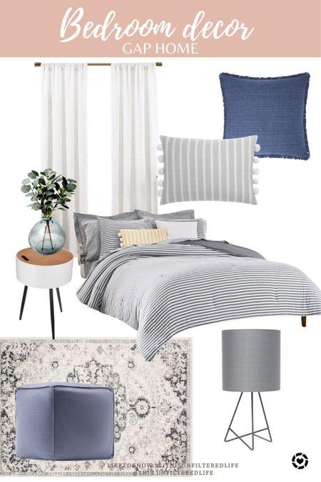 Bedroom decor from Walmart #HomeDecor #Walmart #WalmartStyle #GapHomeBedroom   ##LTKstyletip #LTKhome #LTKunder100