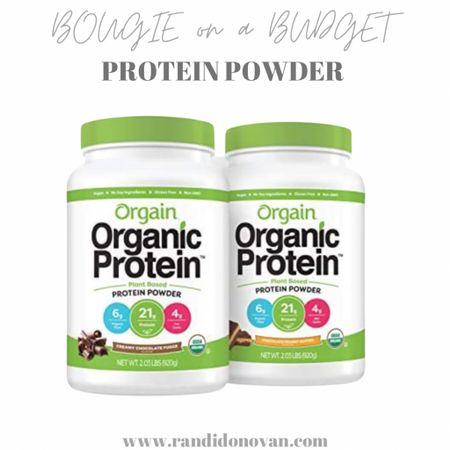 Orgain protein powder  http://liketk.it/3fmnl #liketkit @liketoknow.it #LTKunder50 #LTKfit