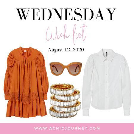 Wednesday Wish List http://liketk.it/2VQlQ #liketkit #StayHomeWithLTK #LTKstyletip #LTKunder50 #hm #baublebar @liketoknow.it