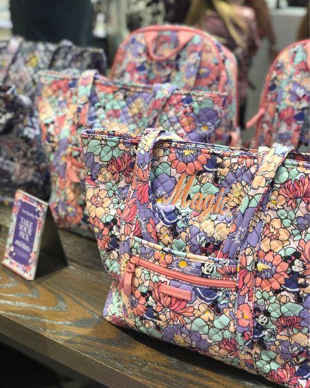 Disney Vera Bradley patterns are my favorite! This one is gorgeous in person and I love the embroidery they did at the Vera Bradley Disney Springs store 🌸 #LTKitbag #liketkit @liketoknow.it http://liketk.it/3gdwP