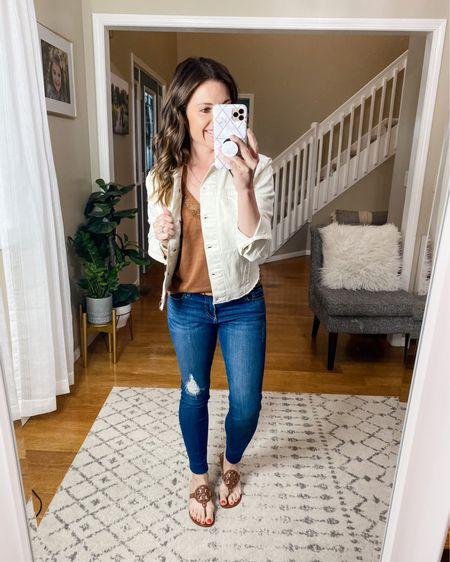 The perfect denim jacket for Autumns!   http://liketk.it/3f9yF @liketoknow.it #liketkit #LTKunder100 #LTKshoecrush #LTKstyletip