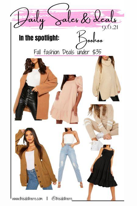 Affordable Fall fashion  Dresses Jackets Coats Jeans Knit sweaters  #LTKworkwear #LTKbacktoschool #LTKunder50