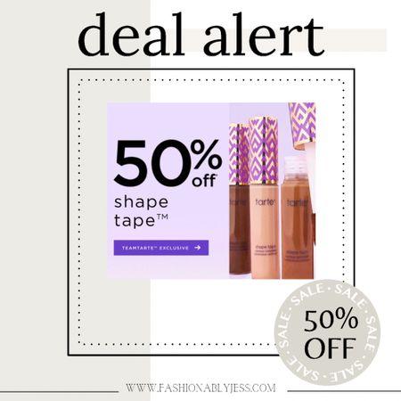 Tarte deal! I use color light  neutral   #LTKbeauty #LTKunder50 #LTKsalealert