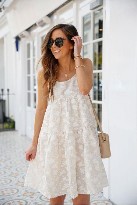 Floral appliqué dress, summer dress 🤍 #liketkit @liketoknow.it http://liketk.it/3gMfn #LTKsalealert