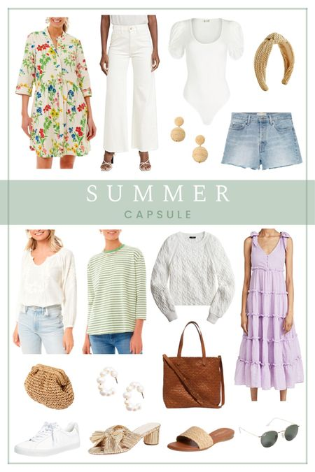 summer capsule wardrobe     #LTKtravel