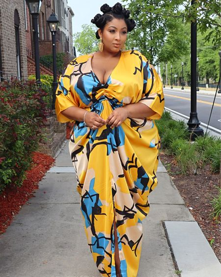 Perfect spring dress that screams elegance and style from the #FTF & #GabrielleUnionCollection  http://liketk.it/2PFcP #liketkit @liketoknow.it #LTKspring #LTKcurves #LTKunder100 #style #beauty #plus #plussize #fullfigured #celebratemysize #curvy #fashion