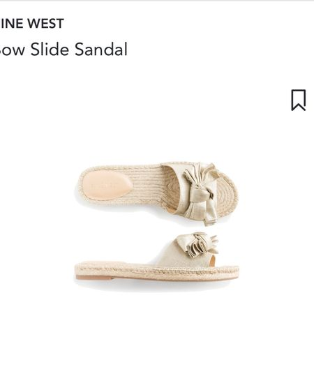 Stitch fix Nine West bow slide sandal #stitchfix #stitchfixstyle http://liketk.it/3hiuZ #liketkit @liketoknow.it   #LTKshoecrush #LTKunder50 #LTKsalealert