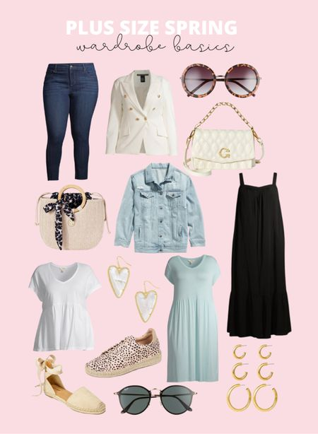 Sharing some of my plus size spring wardrobe basics! These include bestselling plus size maxi dresses and plus size midi dresses under $23.   #LTKcurves #LTKunder50 #LTKstyletip