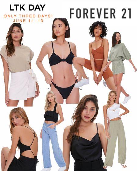 LTK Sale - Forever 21 sales 25% off - shop my picks. June 11-13 only! #forever21 #sales  #LTKsalealert #LTKDay #LTKSeasonal