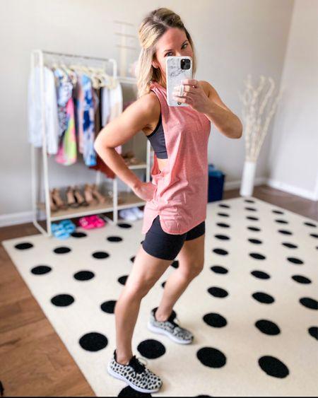 Super comfy biker shorts! Wearing in small - TTS         Amazon fashion, amazon finds, workout clothes, biker shorts , Walmart finds   #LTKstyletip #LTKunder50 #LTKfit