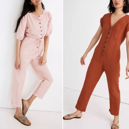 Jumpsuits, rompers and matching sets from @madewell   You can instantly shop all of my looks by following me on the LIKEtoKNOW.it shopping app http://liketk.it/3hw9r / #liketkit @liketoknow.it #ltkday #madewell #madewelljumpsuit #madewellromper #summer2021 #simplestyle #madewell2021 #summervacation #madewellsandals