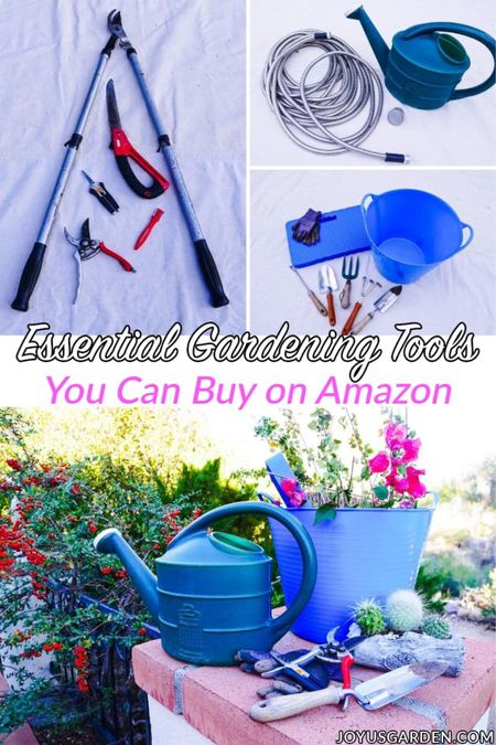 Here are my FAVORITE garden necessities that you can buy on Amazon! These are gardening must haves for your garden tools.   #LTKunder50 #LTKhome