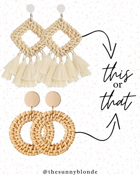 This or that? Either are perfect to accessorize!   #LTKstyletip #LTKunder50 #LTKsalealert