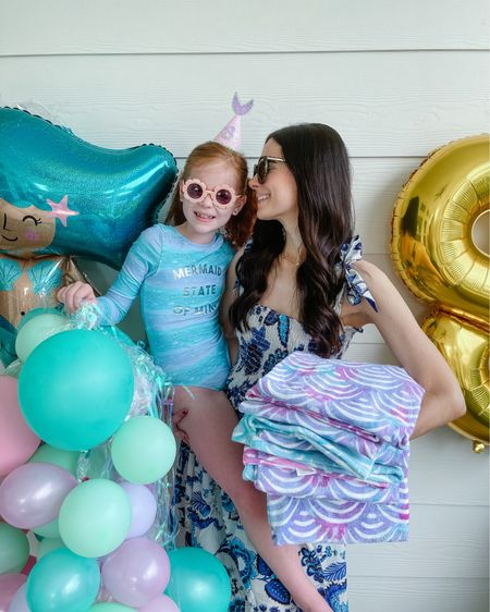 #ad Last weekend, we celebrated Harper's 8th birthday with a mermaid-themed backyard party! I had a busy week leading up to it and used Walmart's Online Pickup & Delivery to get everything we needed delivered straight to our house days before the party ($35 minimum and small delivery fee apply. Pickup and Delivery available in select markets). I also did a Walmart store-pickup because I scored the cutest mermaid print towels to give to our guests as party favors! Walmart's Online Pickup & Delivery has the same Walmart Every Day Low Prices as in store, no hidden fees or markups and pickup is always FREE. Head to the blog to shop all of our party sources and to learn more about the most convenient way to get almost anything - from groceries, clothing, party decor & essentials, and more! http://liketk.it/3gJup #liketkit @liketoknow.it