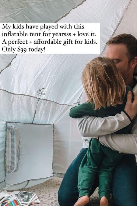 Inflatable air fort, amazon prime day deals   #LTKsalealert #LTKunder50 #LTKfamily