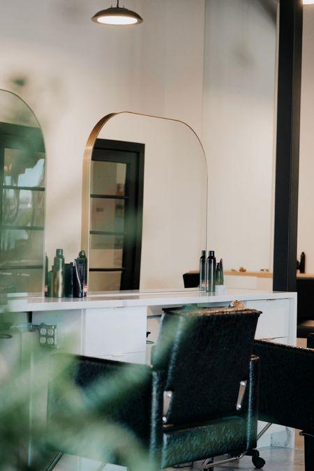 I'm obsessed with my new salon mirrors 🥰🥰 http://liketk.it/2UM32 #liketkit @liketoknow.it