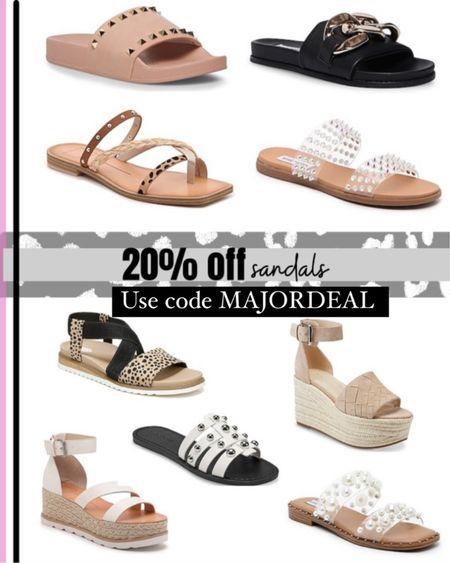 Sandals 20% off with code majordeal http://liketk.it/3hZc3 #liketkit @liketoknow.it #LTKshoecrush #LTKsalealert