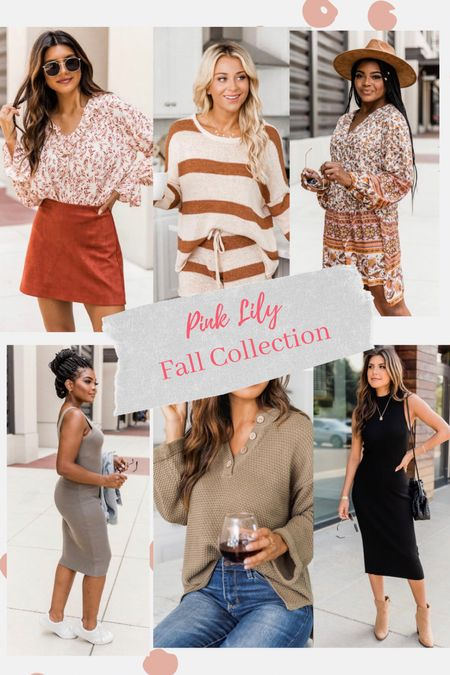 Fall Collection x Pink Lily just launched // shop my Picks below   #LTKunder50 #LTKunder100 #LTKSeasonal