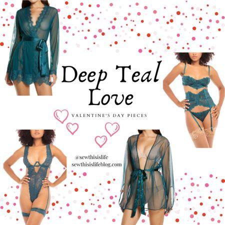 "Valentine's Day ""Deep Teal"" Sets for Women http://liketk.it/37yol #liketkit @liketoknow.it Download the LIKEtoKNOW.it shopping app to shop this pic via screenshot  #valentinesdayoutfits #valentinesday  #LTKVDay #LTKunder100 #LTKstyletip"