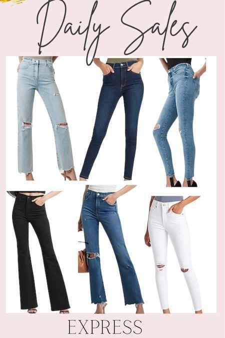 Daily Sales: 40% off Express jeans   #LTKunder50 #LTKunder100 #LTKsalealert