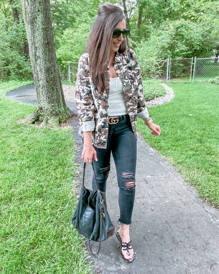 👜 The perfect camo piece ya never knew you needed!  Ladies, I wore this combo just the other day and was stopped at every place I went...talking about my Camo Shacket...I'm just saying, folks were obsessed!  Oh and it's 33% off making it only $32!  You know what makes it even better?!?! This @seedtostyle topper is 100% organic cotton, free from any harmful dyes or chemicals 👠  * * Want to share your fave Affordable Fashion Finds and get a good B00ST? Follow the hosts below and send us a DM to add you: @mommylexiloves  @raisingtwinboys   * * * * *  You can shop the rest of my looks one of these easy ways!  1️⃣ Click the link in my Profile 2️⃣ DM me for any links 💕 3️⃣ Screenshot a look for the @liketoknow.it app 4️⃣ Follow me @stephstyle101 on the FREE @liketoknow.it app to get all the shopping details of this outfit and all my other outfits. http://liketk.it/3h591 #Aff0rdAb13fashi1onF1ndSw33ks3v3nt3eN #Motherhoodjuneme #liketkit #LTKstyletip #LTKunder50 #LTKcurves