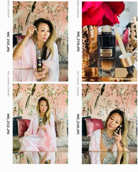 L'Oréal beauty favorites, L'Oréal skincare, L'Oréal serum, L'Oréal beauty at Walmart, Walmart beauty, L'Oréal midnight serum, affordable skincare, skincare routine, beauty routine, night time skincare   @walmart #ad #walmart #walmartbeauty  #LTKbeauty #LTKunder50
