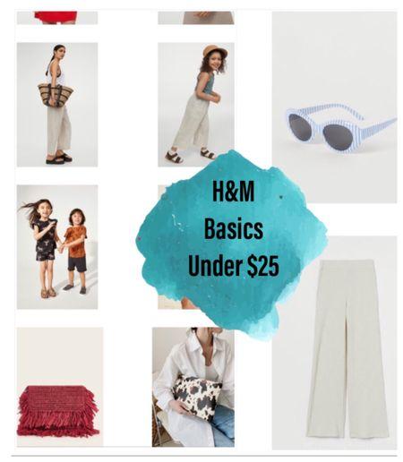 H&M new arrivals! Toddler picks and Mommy favorites  Wide leg pants, linen blend pants, goggles, bags , summer getaway ready   #LTKunder50 #LTKSeasonal #LTKkids