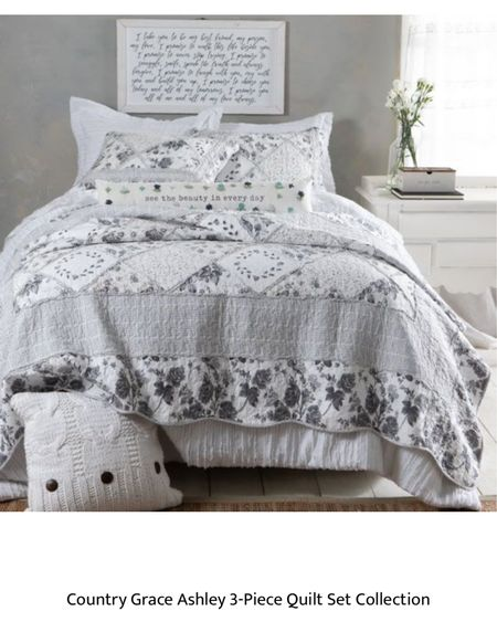Comforter set I ordered for the guest room! Comes in full/queen and king sizes. And pillow shams  @liketoknow.it.home @liketoknow.it.family #LTKhome #LTKfamily #LTKkids @liketoknow.it #liketkit http://liketk.it/3k6Ar       Home decor Bedroom decor Nursery decor Comforter set Pillow shams