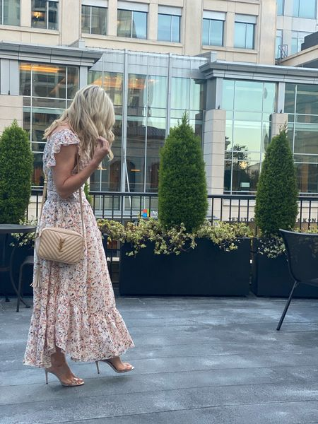 The prettiest two piece dress. Fits tts and the top could be worn with something else. Heels size up 1/2 Great for weddings or vacation   #LTKwedding #LTKshoecrush #LTKstyletip